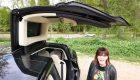 Tesla Model X, el SUV eléctrico con 'puertas de halcón'