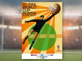 Todos los carteles de la historia de los Mundiales de fútbol