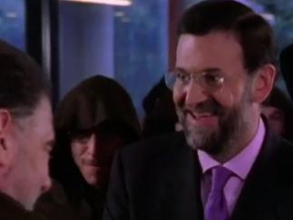 El cameo de Mariano Rajoy en la serie 'Jacinto Durante, Representante'