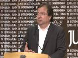 Guillermo Fernández Vara en la Junta de Extremadura