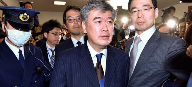 Junichi Fukuda, minsitro de Finanzas de Japón