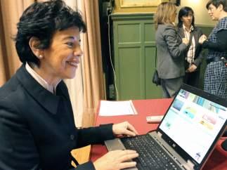 Isabel Celaá, nueva ministra de Educación, en una imagen de archivo.