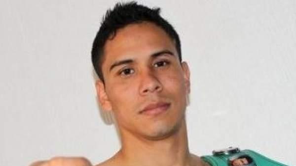 El boxeador Gilberto Parra