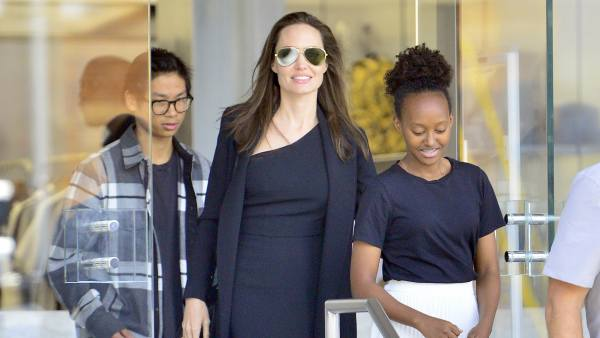 Angelina Jolie Pax Zahara