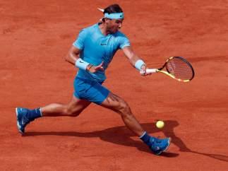 Rafa Nadal contra Diego Schwartzman en cuartos de Roland Garros.