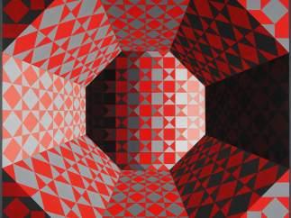 Los juegos ópticos de Victor Vasarely
