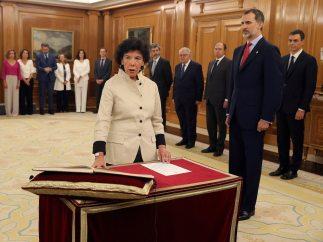 Celaá promete su cargo como ministra de Educación