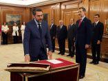 Huerta promete su cargo como ministro de Cultura