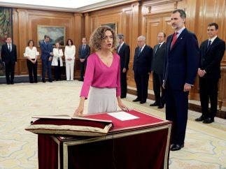 Batet promete su cargo como ministra de Administraciones Territoriales