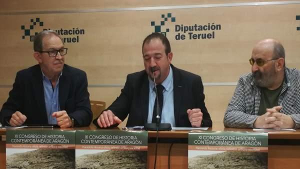 Presentación del XI Congreso de Historia Contemporánea de Aragón.