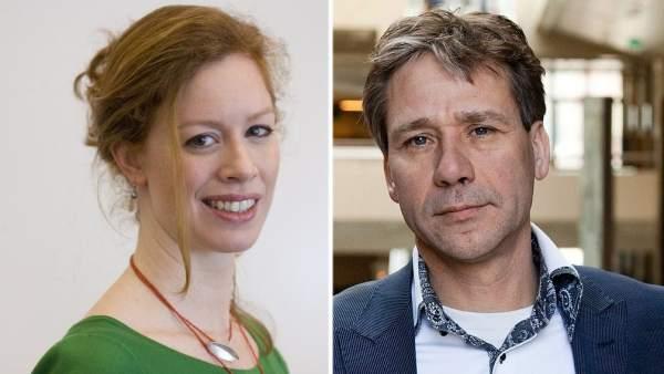 Marjolein Meijer y Rik Grashoff