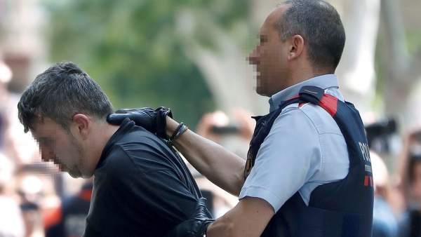 El detenido en Vilanova i la Geltrú