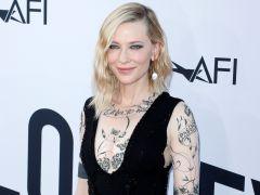 Los tatuajes textiles de Cate Blanchett