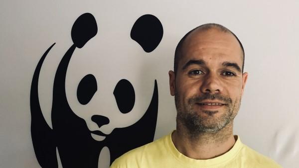 Óscar Esparza, responsable de Áreas Marinas Protegidas de WWF