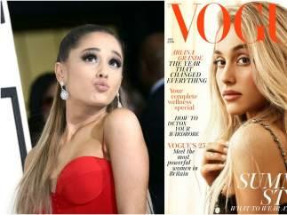 Famosas irreconocibles en portadas de revistas