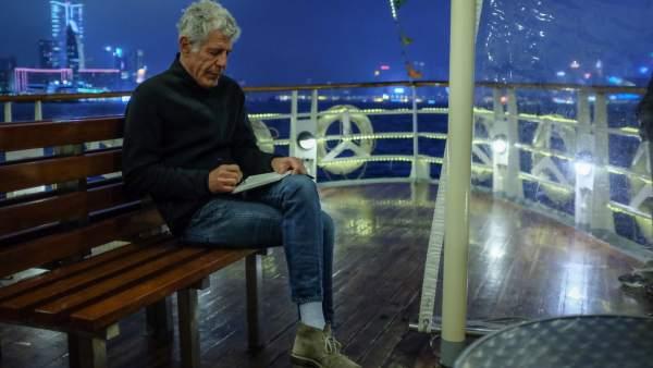 Anthony Bourdain en una imagen reciente.