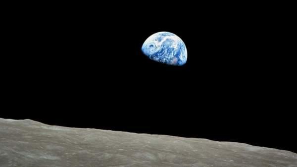 La Tierra, vista desde la Luna