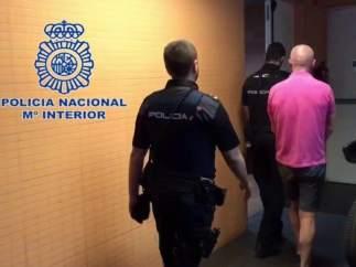 Hombre detenido en Alicante