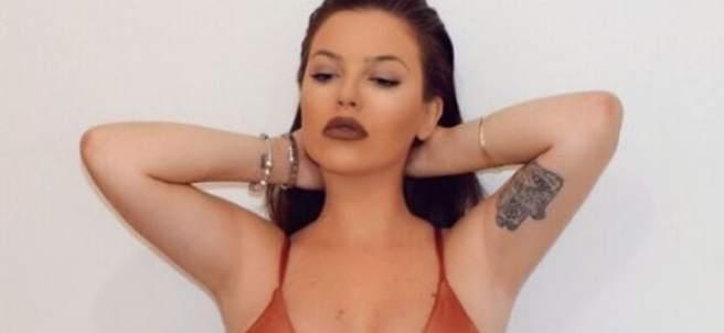 La cantante María Isabel