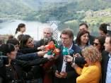 Alberto Núñez Feijóo en el 50 aniversario de las bodegas Viña Costeira