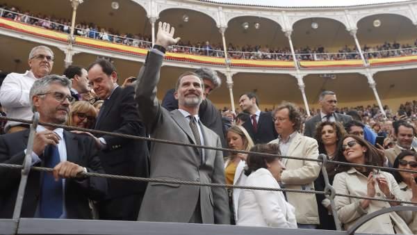 El rey Felipe VI, en la Feria de San Isidro