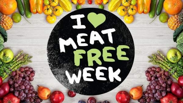 "Cartel de la ""Semana sin carne"""