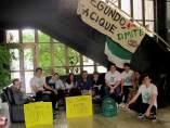 Encierro de estudiantes en Badajoz