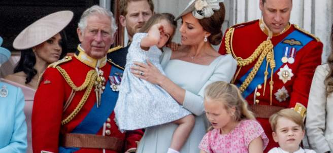 Princesa Charlotte y Kate Middleton
