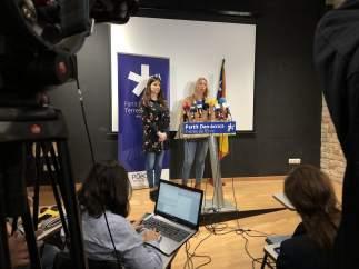 Rueda de prensa de la exdirectora del ISPC Annabel Marcos.