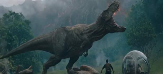'Jurassic World: El reino caído' recaudó tres millones en España este sábado, el mejor dato de 2018