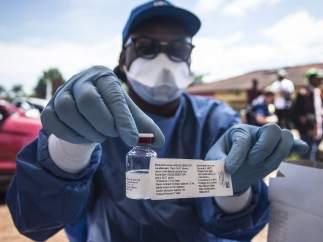 El brote de ébola en África