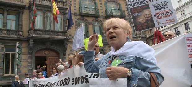 Pensionistas reiteran sus demandas al nuevo gobierno