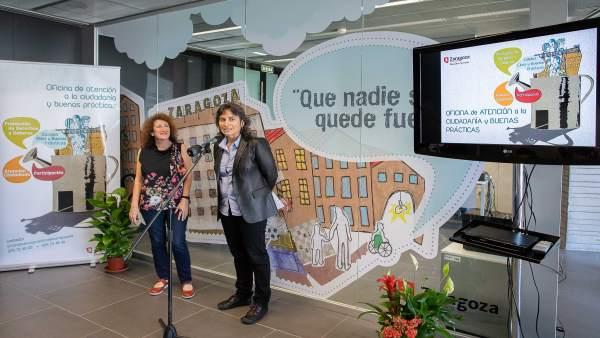 Broto destaca la innovadora oficina de atenci n a la ciudadan a y buenas pr cticas pionera en - Oficinas de atencion a la ciudadania linea madrid ...
