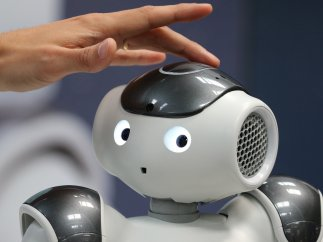 Caricia robótica