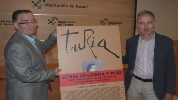 Número de la revista 'Turia' dedicado a las letras de España y Perú