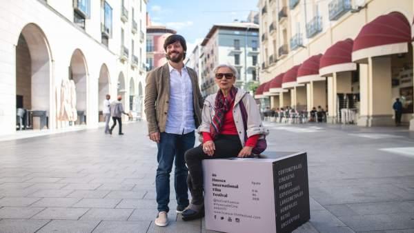 Alejandro Cortés y Teresa Ramón, hoy en Huesca