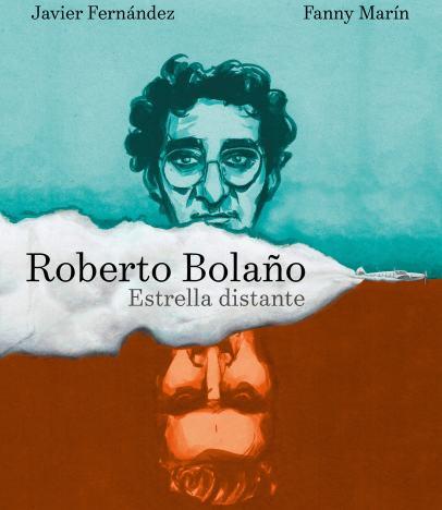 Portada de 'Estrella distante' de Roberto Bolaño, en formato de novela gráfica.
