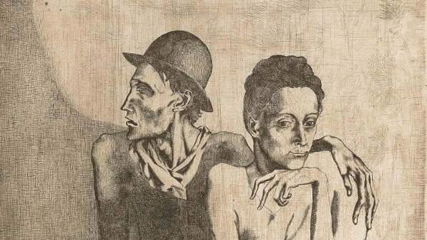 Pablo Picasso. Le repas frugal, 1904