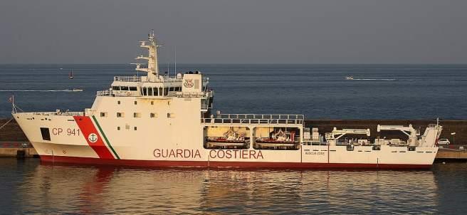 Guardia costera italiana