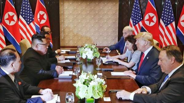 Cumbre entre Trump y Kim