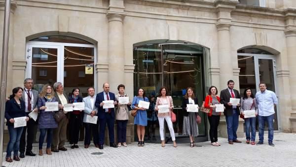 Protesta Letrados Administración de Justicia