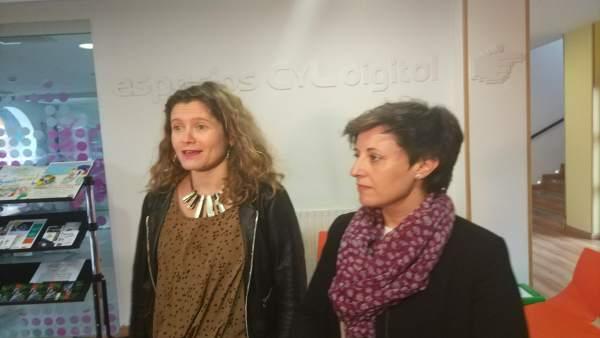 Marta Cáceres (izq) y Soraya de las Sías