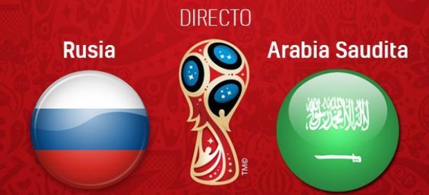 Rusia y Arabia Saudí abren el Mundial