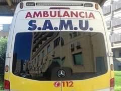 Imatge d'una ambulància SAMU