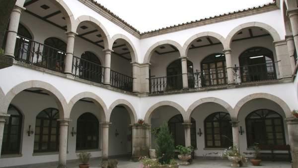 Patio del Ayuntamiento de Coria (Cáceres)