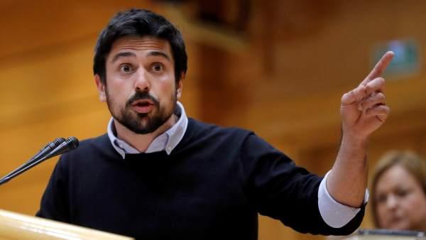 Ramón Espinar, secretario general de Podemos en Madrid.