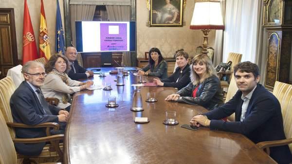 Barkos preside la Comisión Permanente del acuerdo interinstitucional