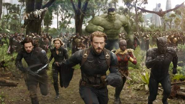 Infinity War: Capitán América