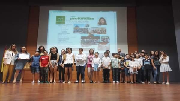 Yolanda Caballero, en el cierre de 'Andalucía Profundiza'