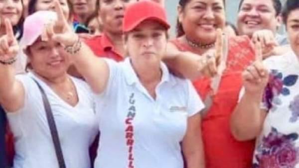 Candidata mexicana tiroteada